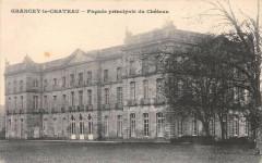 Grancey Le Chateau Fafade Principale Du Chateau - Ancey