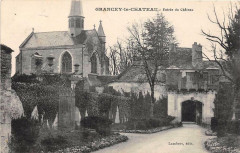 Grancey Le Chateau Entree Du Chateau - Ancey