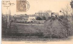Clisson L'Ancien Cloitre Et Garenne (dos non divisé) - Clisson