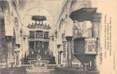 Interieur De L'Eglise D'Utelle (dos non divisé) - Utelle