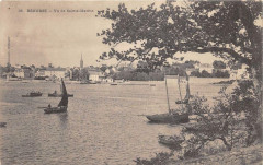 Benodet Vue De Sainte Marine (dos non divisé) - Bénodet