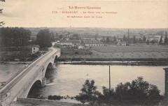 Miramont Le Pont Sur La GaronneSaint-Gaudens Dans Le Fond - Saint-Gaudens