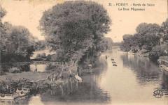 Poissy Bords De Seine Le Bras Migneaux - Poissy