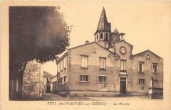 Monesties Sur Cerou La Mairie - Monestiés
