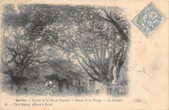 Soreze Entree De La Rue De Castres Le Clocher (dos non divisé) - Sorèze