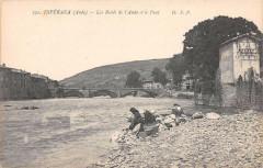 Esperaza Les Bords De L'Aude Et Le Pont Lavandieres - Espéraza