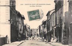 Sainte Foy La Grande La Rue Perrine - Sainte-Foy-la-Grande