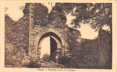 Najac Premiere Entree Du Chateau - Najac
