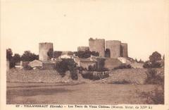 Villandraut Les Tours Du Vieux Chateau - Villandraut