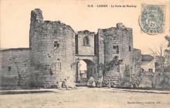 Loudun La Porte Du Martray - Loudun