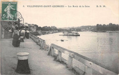 Villeneuve Saint Georges Les Bords De La Seine 94 Villeneuve-Saint-Georges