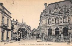 La Caisse d'Epargne et la Rue Dacier - Saumur