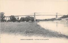 Tonnay Charente Le Pont Vu De La Priairie - Tonnay-Charente