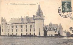 Ecuille Chateau Du Plessis Bourre - Écuillé