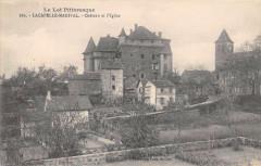 Lacapelle Marival Chateau Eglise - Lacapelle-Marival