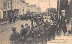 1200 Prisonniers Allemands A Reims 51 Reims