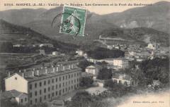 Sospel Vallee De La Bevera Les Casernes Et Fort Barbonnet - Sospel