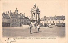 Chateaudun Place Du 18 Octobre (dos non divisé) - Châteaudun