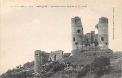 Domeyrat Imposantes Ruines Feodales - Domeyrat