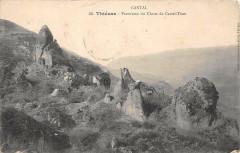 Thiezac Panorama Du Chaos De Castel Tinet - Thiézac