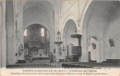 Loigny La Bataille Interieur De L'Eglise - Loigny-la-Bataille