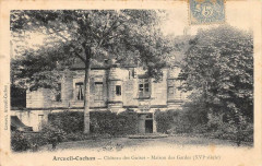 Arcueil Cachan Chateau Des Guises Maison Gardes 94 Arcueil