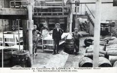 Wasquehal Manufacture De Couleurs O.loneux Une Fabrication De Verts De Zi - Wasquehal