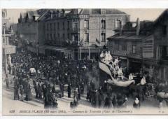 Berck Plage 22 Mars 1914 Concours De Travestis Place De L'Entonnoir (Gros 62 Berck