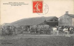 Distillerie E.goyau Montelin Par Le Gua Arrivage Des Vins (très rare cpa - Le Gua