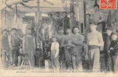Puy Guillaume Interieur De La Verrerie Four N°3 - Puy-Guillaume