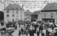 Saint Gervais D'Auvergne La Gendarmerie Un Jour De Foire - Saint-Gervais-d'Auvergne