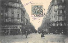 Rue d'Alésia - Paris 14e
