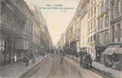 Paris IIIe La Rue Des Filles Du Calvaire - Paris 3e