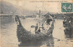 Combat Naval Fleuri A Villefranche Sur Mer - Villefranche-sur-Mer