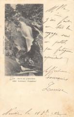 Saut De L'Artande Pres Liginiac Correze (dos non divisé) - Liginiac