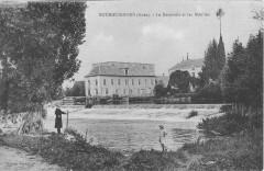 Bourguignons Le Deversoir Et Les Moulins - Bourguignons