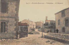 Villemolaque A L'Abreuvoir (cliché colorisé rare - Villemolaque