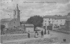Saillagouse Eglise Et Place - Saillagouse