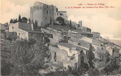 Ruines Du Village Et De La Chapelle De Corbere D'En Haut - Corbère