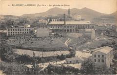 Saint Laurent De Cerdans Vue Generale Des Usines 66 Saint-Laurent-de-Cerdans