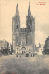 Coutances La Cathedrale - Coutances