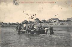 Saint Pair Sur Mer Le Retour Du Canot De Sauvetage - Saint-Pair-sur-Mer
