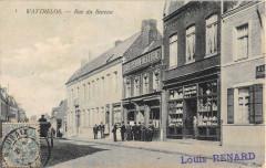 Wattrelos Rue Du Bureau (dos non divisé) Cliche Rare - Wattrelos