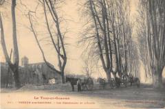 Verdun Sur Garonne Les Promenades Et L'Eglise - Verdun-sur-Garonne