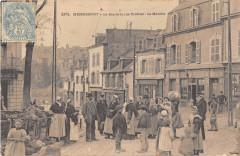 Hennebont Le Bas De La Rue Trottier Le Marche - Hennebont