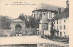 Moyenmoutier Place Du Fort Demange Entree Ancienne Abbaye - Moyenmoutier