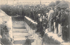 Catastrophe Mines Courrieres Benediction Fosse Commune - Courrières