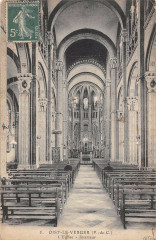 Oisy Le Verger L'Eglise Interieur - Oisy-le-Verger
