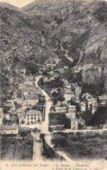 La Malene Panorama Et Route De La Canourgue - La Canourgue