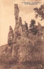 Villefort Les Rochers De La Chadelette - Villefort